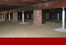 Crawl Space Supports in Superior, WI